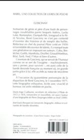 Goscinny - 4ème de couverture - Format classique