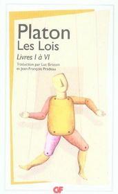 Les lois t.1 ; livre I à VI - Intérieur - Format classique