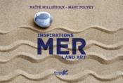 Inspiratons land art ; mer - Couverture - Format classique