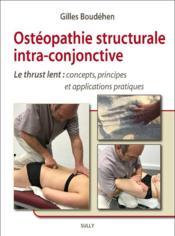 L'ostéopathie structurale intra-conjonctive - Couverture - Format classique