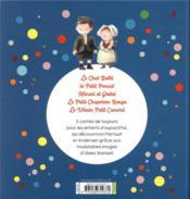 Les belles histoires ; contes de toujours - 4ème de couverture - Format classique