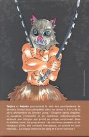 Demon slayer ; COFFRET VOL.2 ; T.4 A T.6 - 4ème de couverture - Format classique