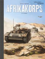 Afrikakorps T.2 ; crusader - Couverture - Format classique