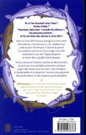 Éloquence de la sardine ; incroyables histoires du monde sous-marin - 4ème de couverture - Format classique