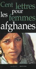 Cent lettres pour les femmes afghanes - Intérieur - Format classique
