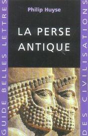La Perse antique - Intérieur - Format classique