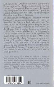 La roue du temps T.3 ; la grande chasse t.1 ; le cor de Valère - 4ème de couverture - Format classique