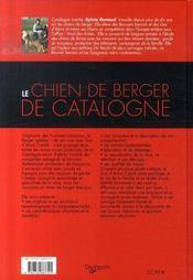 Le chien de berger de catalogne - 4ème de couverture - Format classique