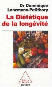 La dietetique de la longevite - Couverture - Format classique