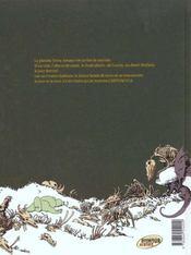 Donjon crépuscule t.102 ; le volcan de Vaucansson - 4ème de couverture - Format classique