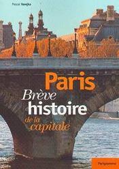Paris breve histoire de la capitale - Intérieur - Format classique