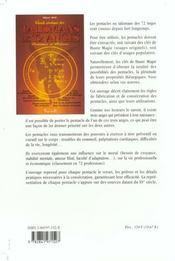 Guide pratique des talismans des 72 anges - 4ème de couverture - Format classique