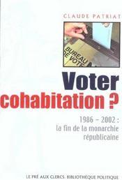 Voter Cohabitation - Intérieur - Format classique