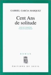 Cent ans de solitude - Couverture - Format classique