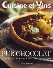 Pur chocolat - Intérieur - Format classique