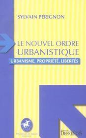 Le nouvel ordre urbanistique - Intérieur - Format classique