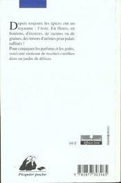 Jardin des epices (le) - 4ème de couverture - Format classique