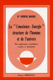 Conscience Energie - Couverture - Format classique
