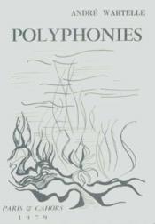 Polyphonies Poemes - Couverture - Format classique