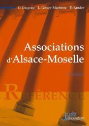 Associations d'Alsace-Moselle (2e édition) - Couverture - Format classique