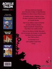 Achille Talon ; INTEGRALE VOL.4 - 4ème de couverture - Format classique