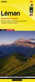 Léman, des rîves du lac aux sommets - Couverture - Format classique