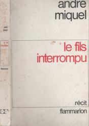 Le fils interrompu - Couverture - Format classique