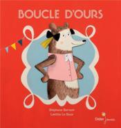 Boucle d'ours - Couverture - Format classique