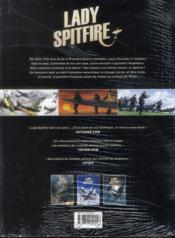 Lady Spitfire t.1 à t.3 - 4ème de couverture - Format classique