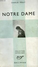 Notre Dame. Collection Catholique. - Couverture - Format classique