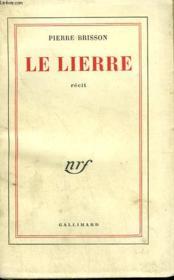 Le Lierre. - Couverture - Format classique