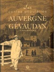 Contes populaires de l'Auvergne et du Gévaudan - Couverture - Format classique