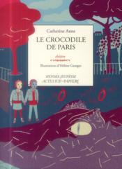 Le crocodile de Paris - Couverture - Format classique