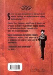 150 énigmes du Docteur Watson - 4ème de couverture - Format classique