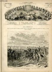 L'UNIVERS ILLUSTRE - VINGTIEME ANNEE N° 1167 - Arrivée du maréchal-président de la république au camp d'avord, près de Bourges. - Couverture - Format classique