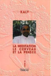 Meditation cerveau et pensee - Couverture - Format classique