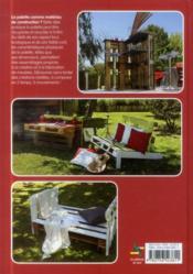 Les meubles en palettes - 4ème de couverture - Format classique