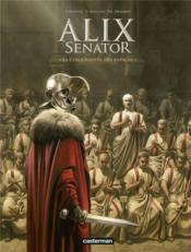 Alix senator T.3 ; la conjuration des rapaces - Couverture - Format classique