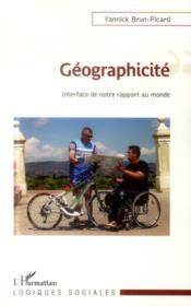 Géographicité ; interface de notre rapport au monde - Couverture - Format classique