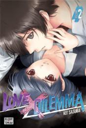 Love x dilemma t.2 - Couverture - Format classique