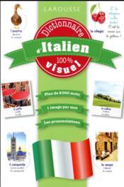 Dictionnaire d'italien 100% visuel - Couverture - Format classique
