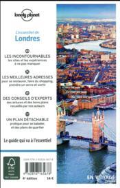 De Londres (4e édition) - 4ème de couverture - Format classique