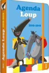 Agenda Loup (édition 2018/2019) - Couverture - Format classique