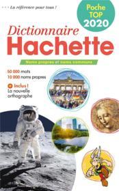 Dictionnaire Hachette poche top - Couverture - Format classique