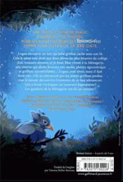 SOS créatures fantastiques t.1 ; le secret des petits griffons - 4ème de couverture - Format classique