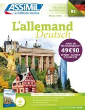Allemand/deutsch ; débutants & faux débutants B2 - Couverture - Format classique