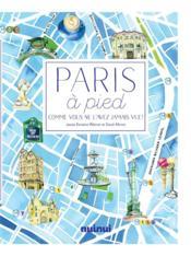 Paris à pied - Couverture - Format classique