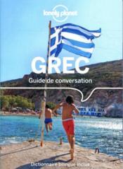 GUIDE DE CONVERSATION ; guide de conversation grec (8e édition) - Couverture - Format classique