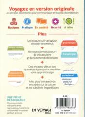 GUIDE DE CONVERSATION ; guide de conversation grec (8e édition) - 4ème de couverture - Format classique