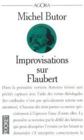 Improvisations Sur Flaubert - Couverture - Format classique